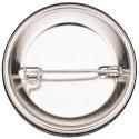 Miroirs de poche fluo rose 75mm
