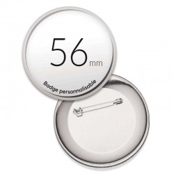 Badges ronds de 56mm