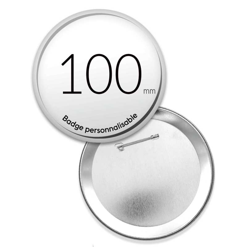 Badges ronds de 100mm