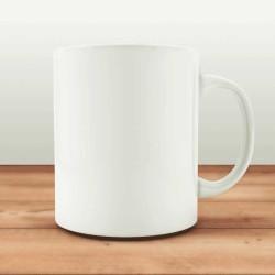 Mug personnalisé blanc