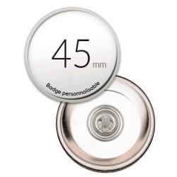 Badge aimanté ronds de 45mm