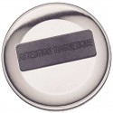 Badges vertical dorure argent 68x45mm