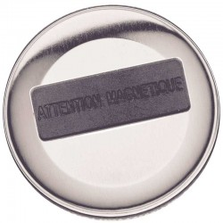 Badge magnétique 63mm