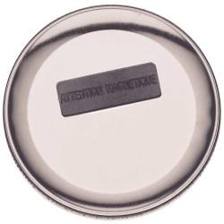 Badge magnétique 75mm