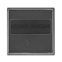 Badge aimant carré 40x40mm
