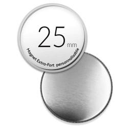Magnet personnalisé de 25mm