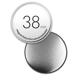 Magnets personnalisés ronds de 38mm