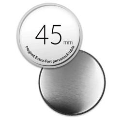Magnet personnalisé rond de 45mm