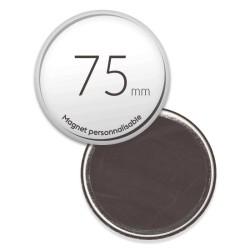 Magnet personnalisé photo de 75mm