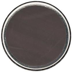 Magnet aimant caoutchouté 25mm