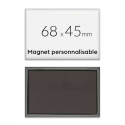 Magnet photo pour frigo 68x45mm