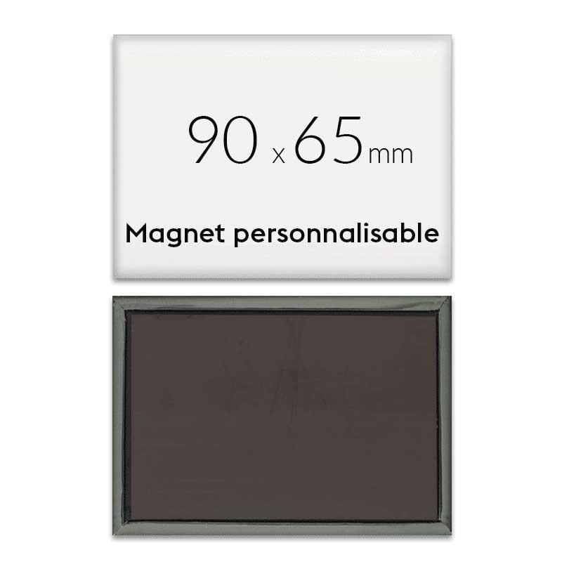 Magnet frigo personnalisé 90x65mm