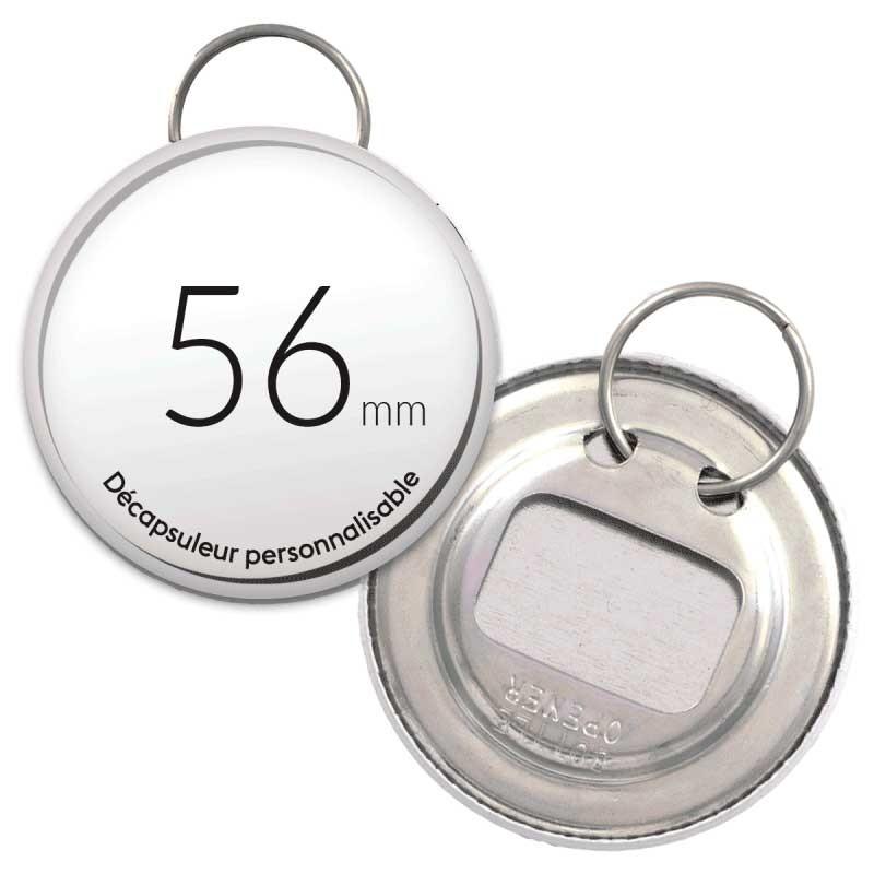 Décapsuleur porte clé 56mm