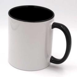 Mug personnalisé noir et blanc