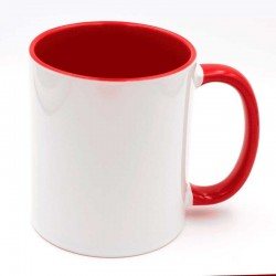 Mug à personnaliser rouge