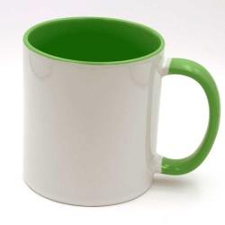 Mug vert à personnaliser